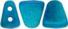 Matte Metalust Turquoise Nib Bit Beads (8 Grams) 48-50 Beads