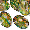 25x18mm Opalescent Opal Resin Cabochon (1 Piece)