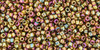 15/0 Gold Luster Dark Topaz Toho (8 Grams) 15-459