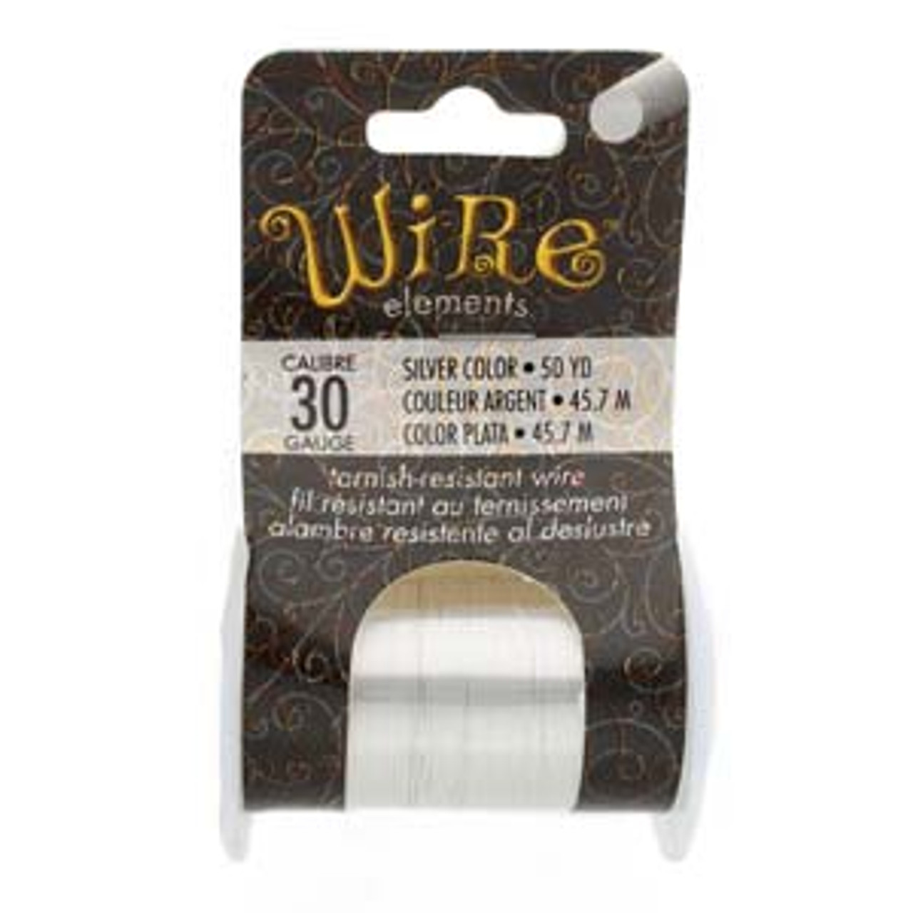 30ga Silver Wire Elements Wire (50yd spool)