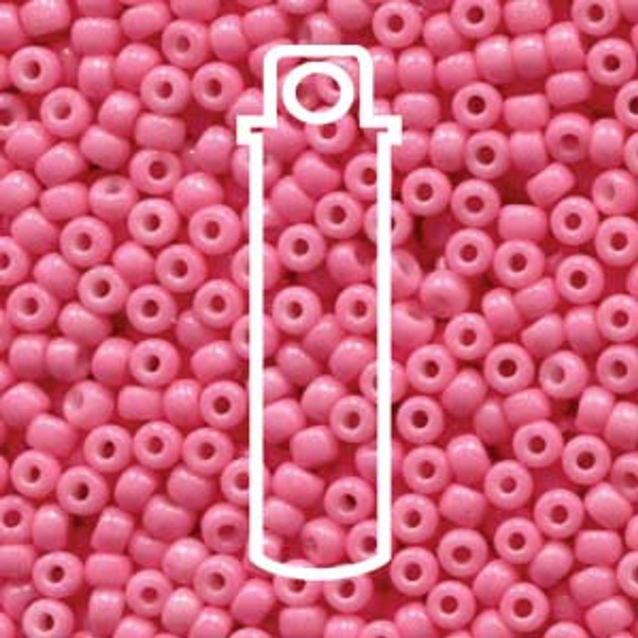 8/0 Duracoat Party Pink Miyuki Seed Beads (22 Grams) 8-94467