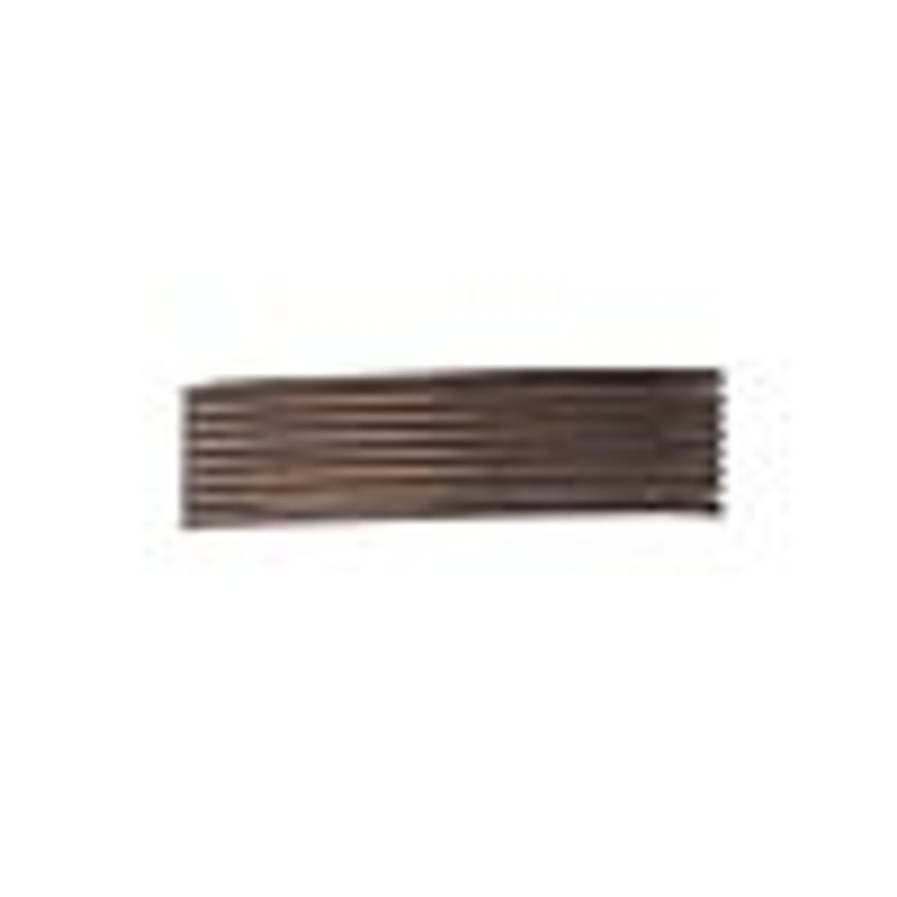 French wire, enamel-coated brass, brown, 0.7-0.9mm tube. Sold per  19-1/2 inch strands