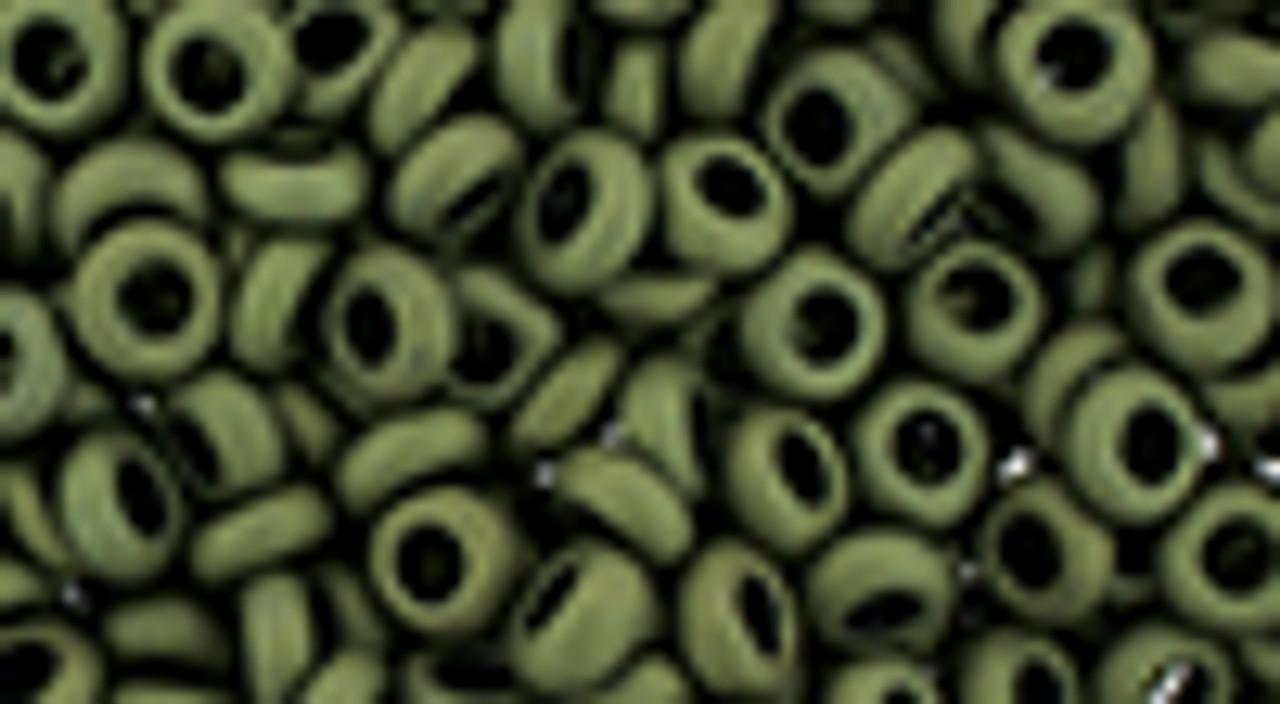 6/0 Matte Dark Olive Demi Round (8 Grams) 06-617