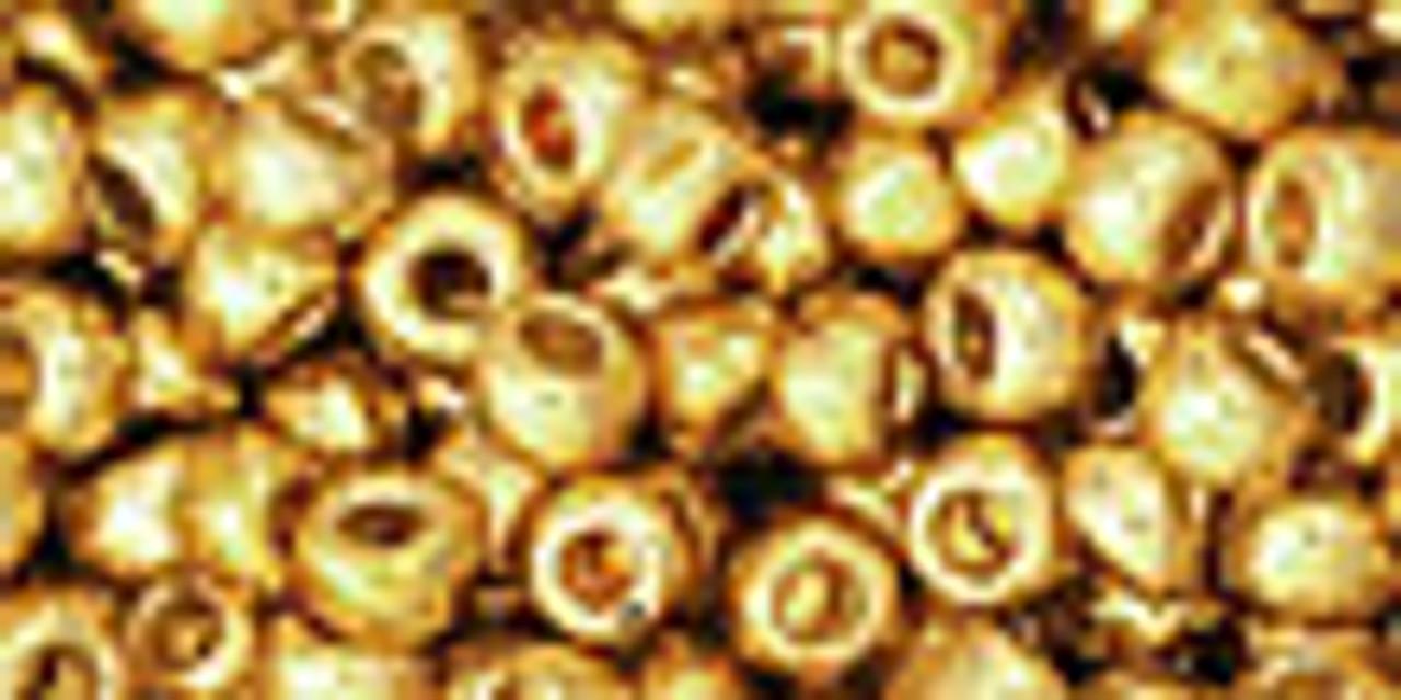 6/0 Permafinish Galvanized Starlight Toho Seed Beads (20 Grams) 06-PF557
