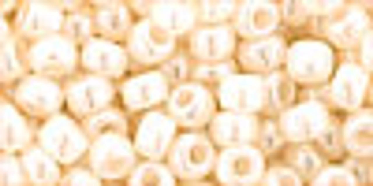 6/0 Ceylon Light Beige Toho Seed Beads (20 Grams) 06-147