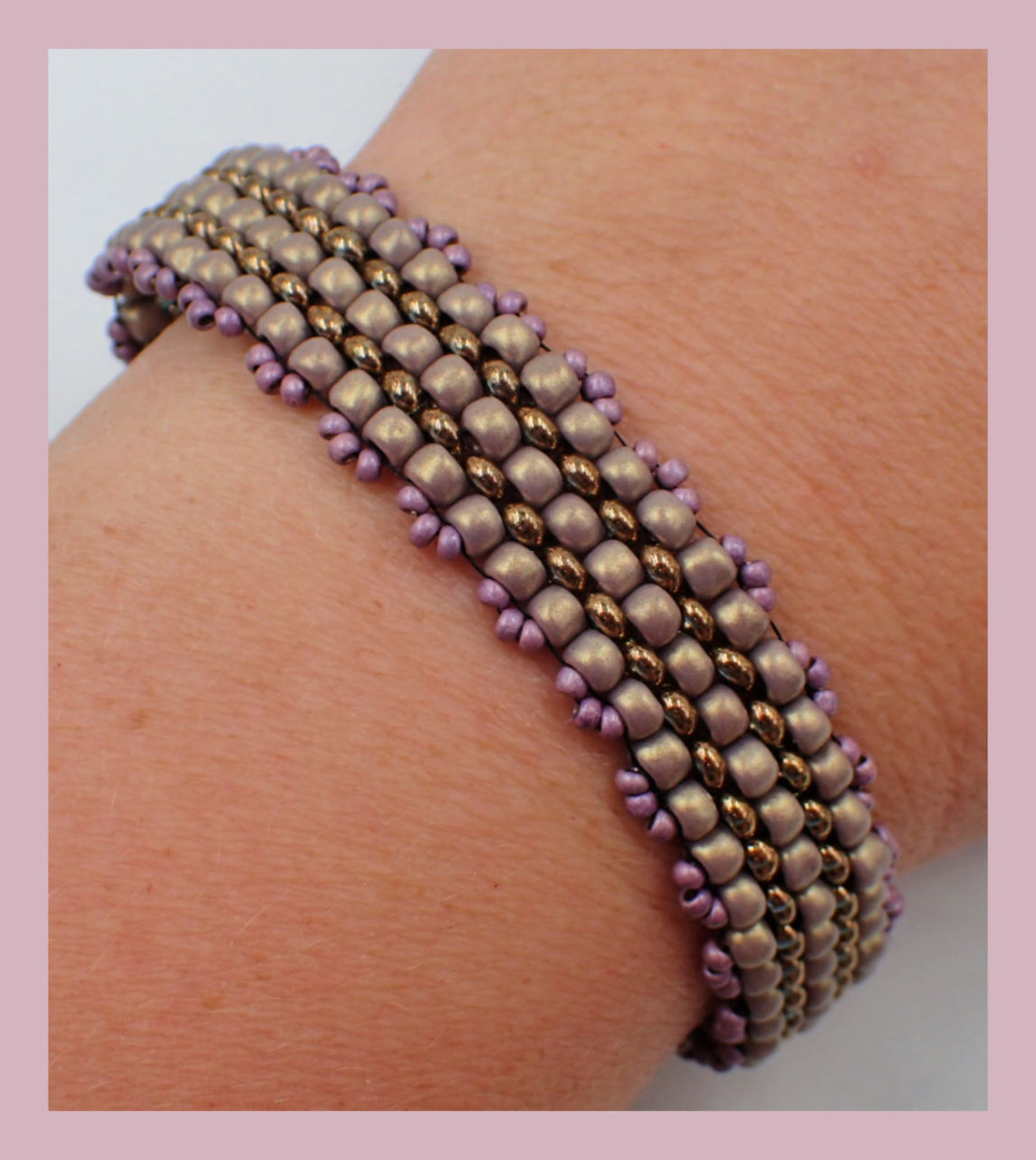 Highways & Byways Bracelet PRINTED Pattern - Mailed to your home