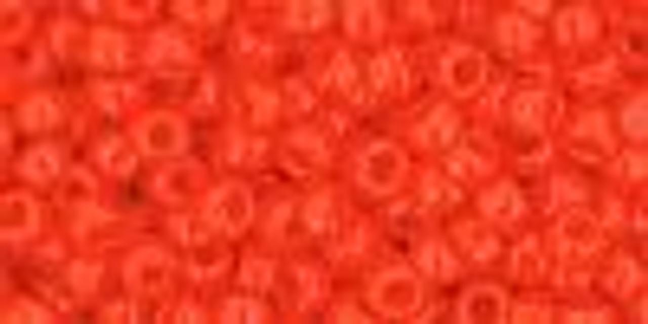 8/0 Opaque Sunset Orange Toho Seed Beads (20 Grams) 08-50