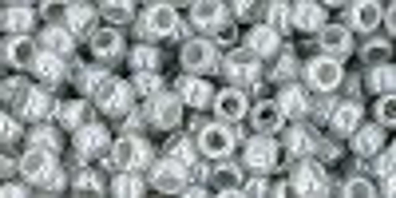 8/0 Ceylon Smoke Toho Seed Beads (20 Grams) 08-150