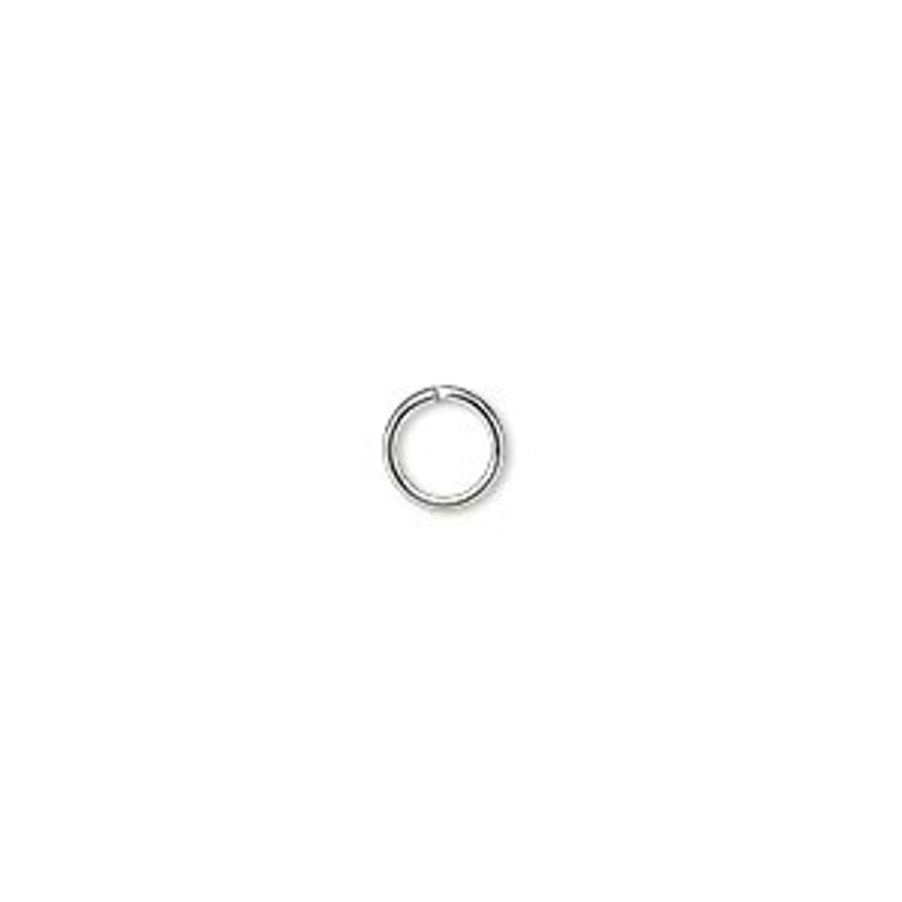 6mm 20 Gauge Silver Plated Jump Rings (100 Pack)