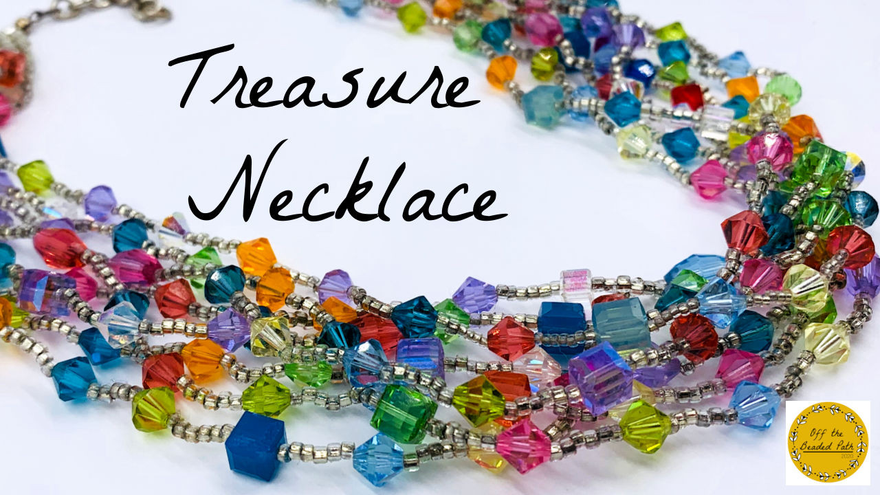 Treasure Necklace INSTANT DOWNLOAD Pattern
