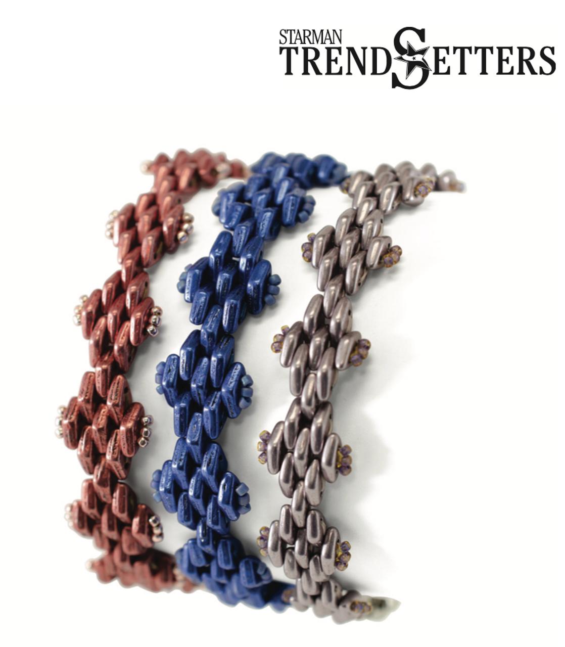 Rick Rack Bracelet INSTANT DOWNLOAD Pattern