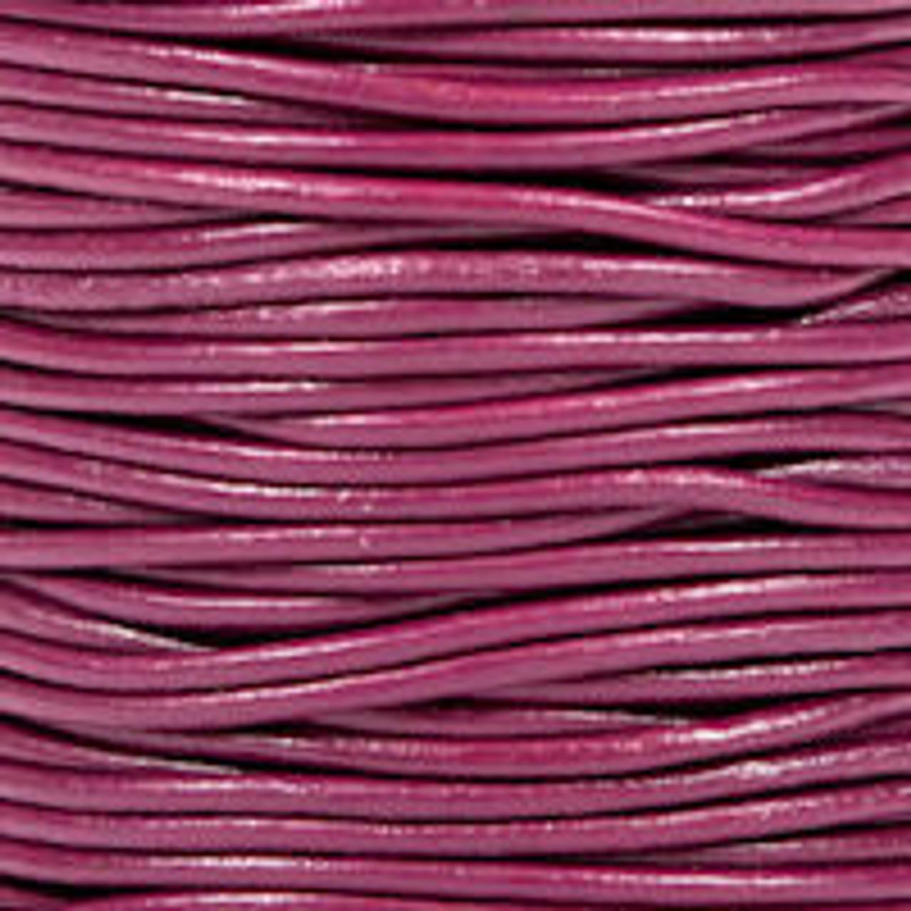 1.5mm Cyclamen Leather (2 Meters)