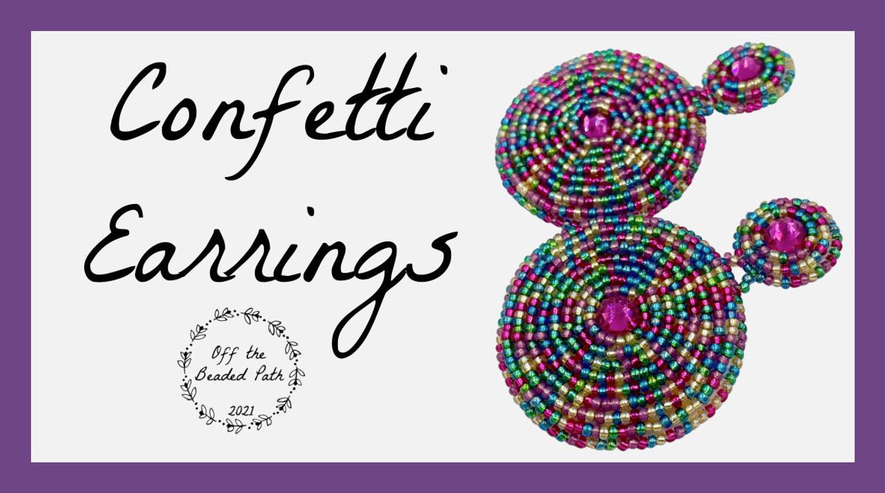 Confetti Earring Kit - Carnival Color