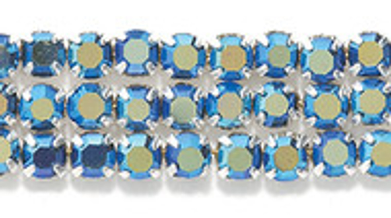 3.2mm Montan AB Preciosa Montee Beads (24pk)