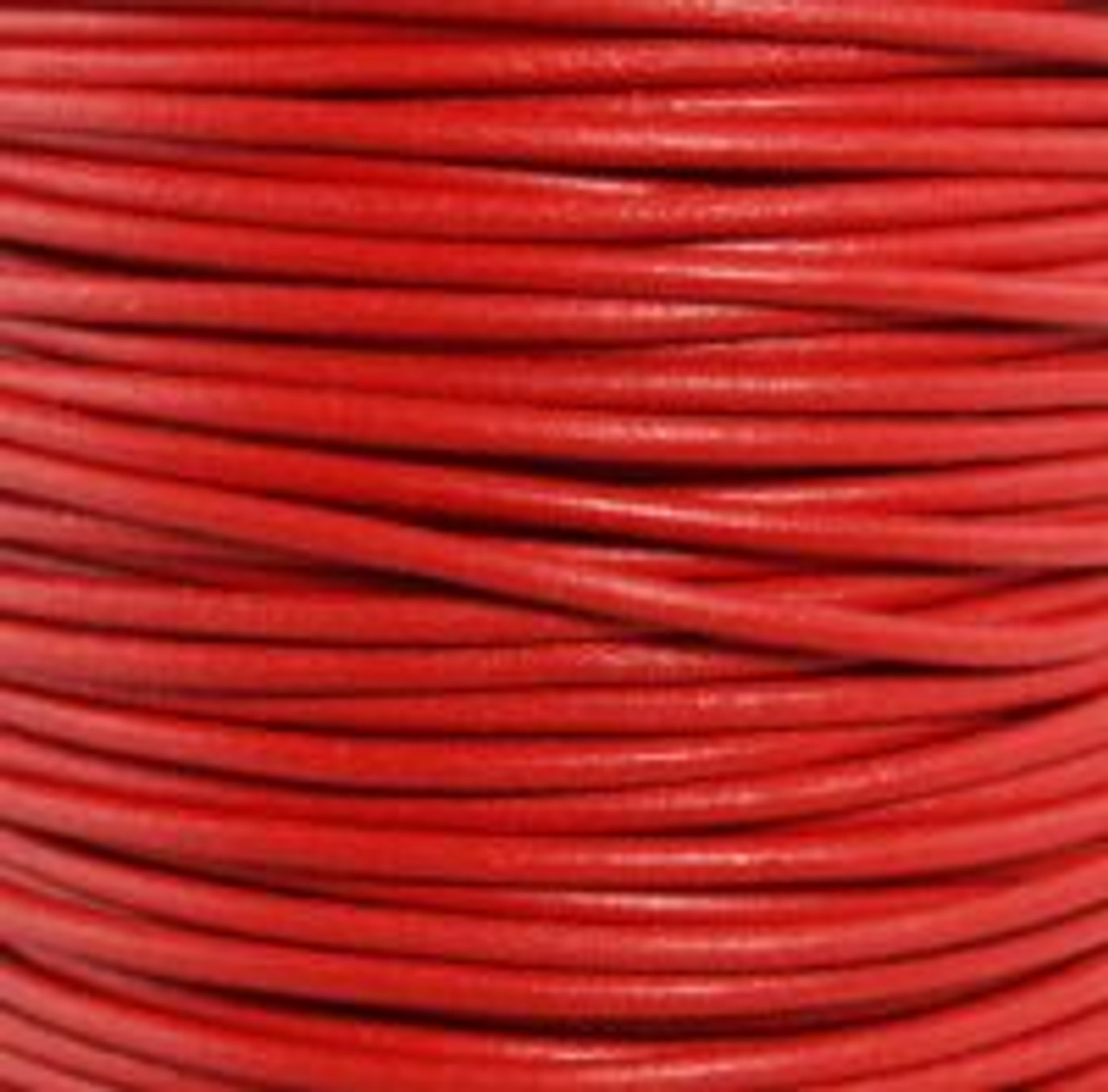 1.5mm Red Leather (2 Meters)