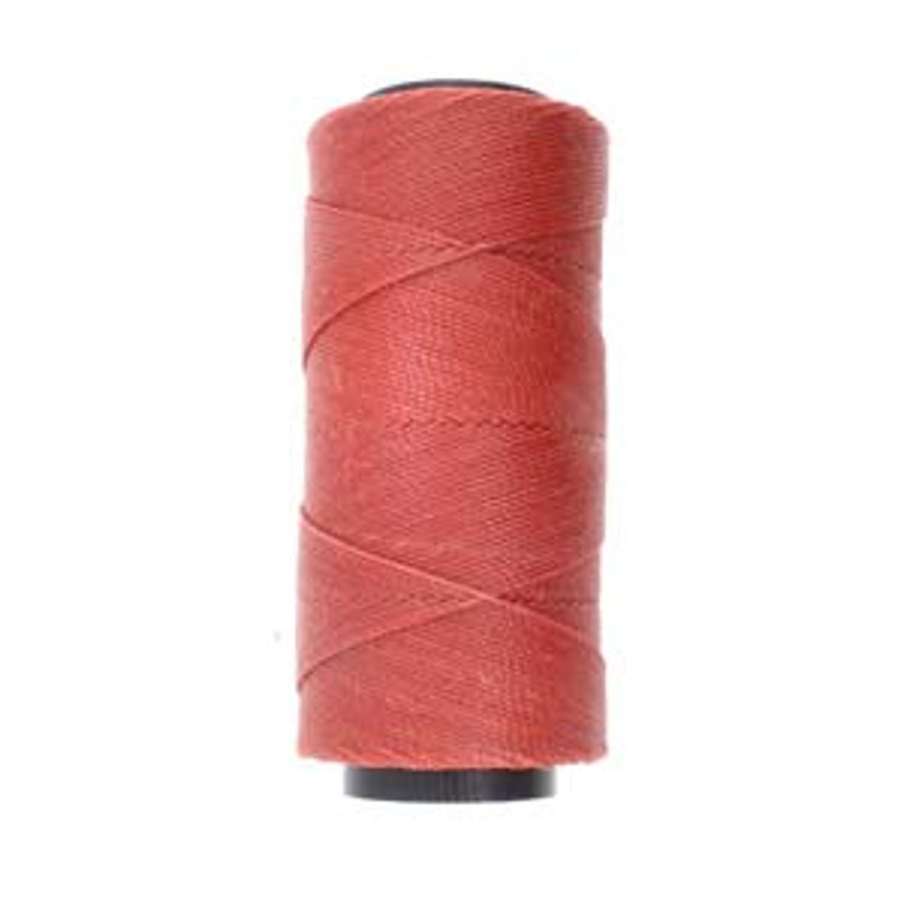 144yds 2 ply Terracotta Waxed Brazilian Cord