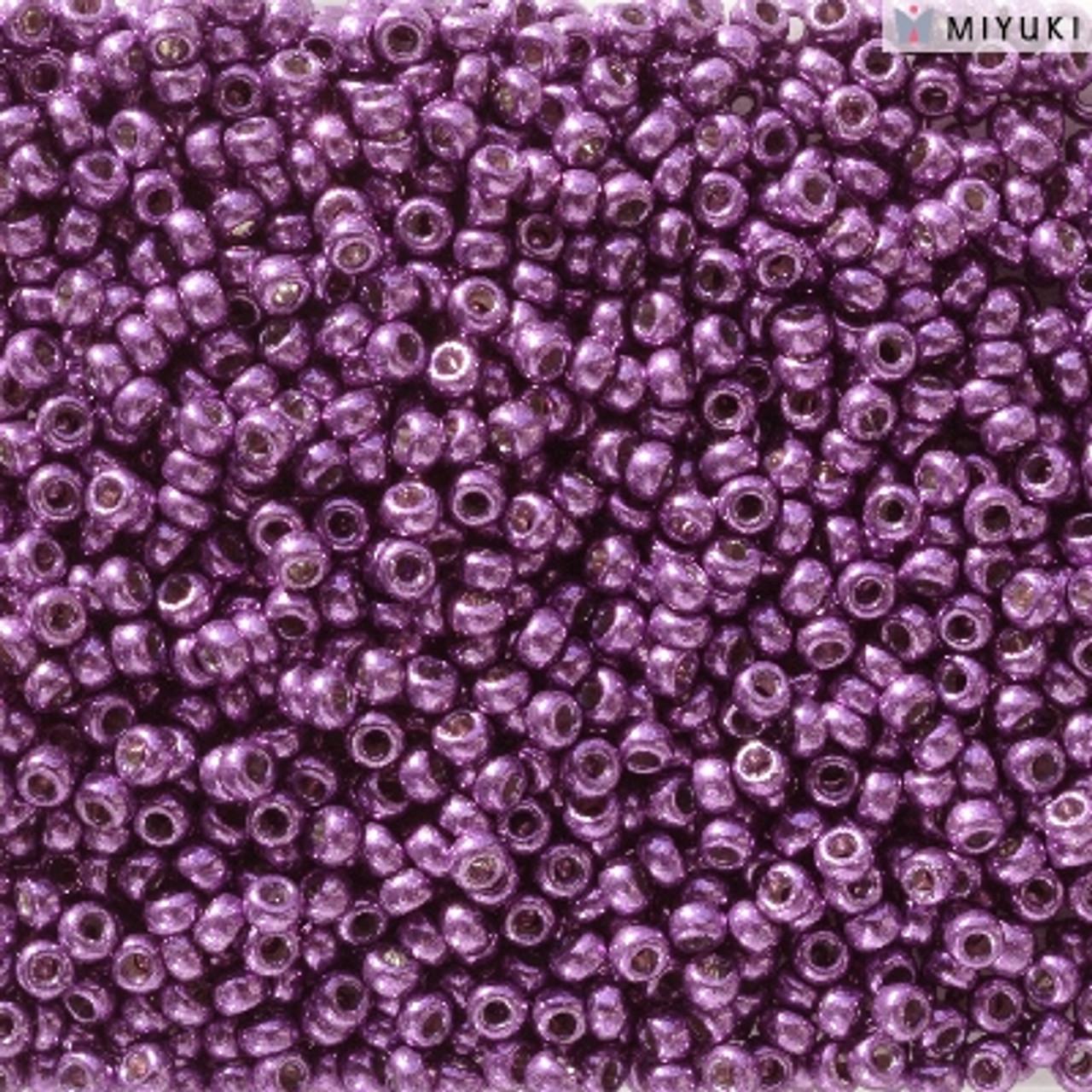 11/0 Duracoat Galvanized Purple Orchid Miyuki Seed Beads (8 Grams) 11-5108