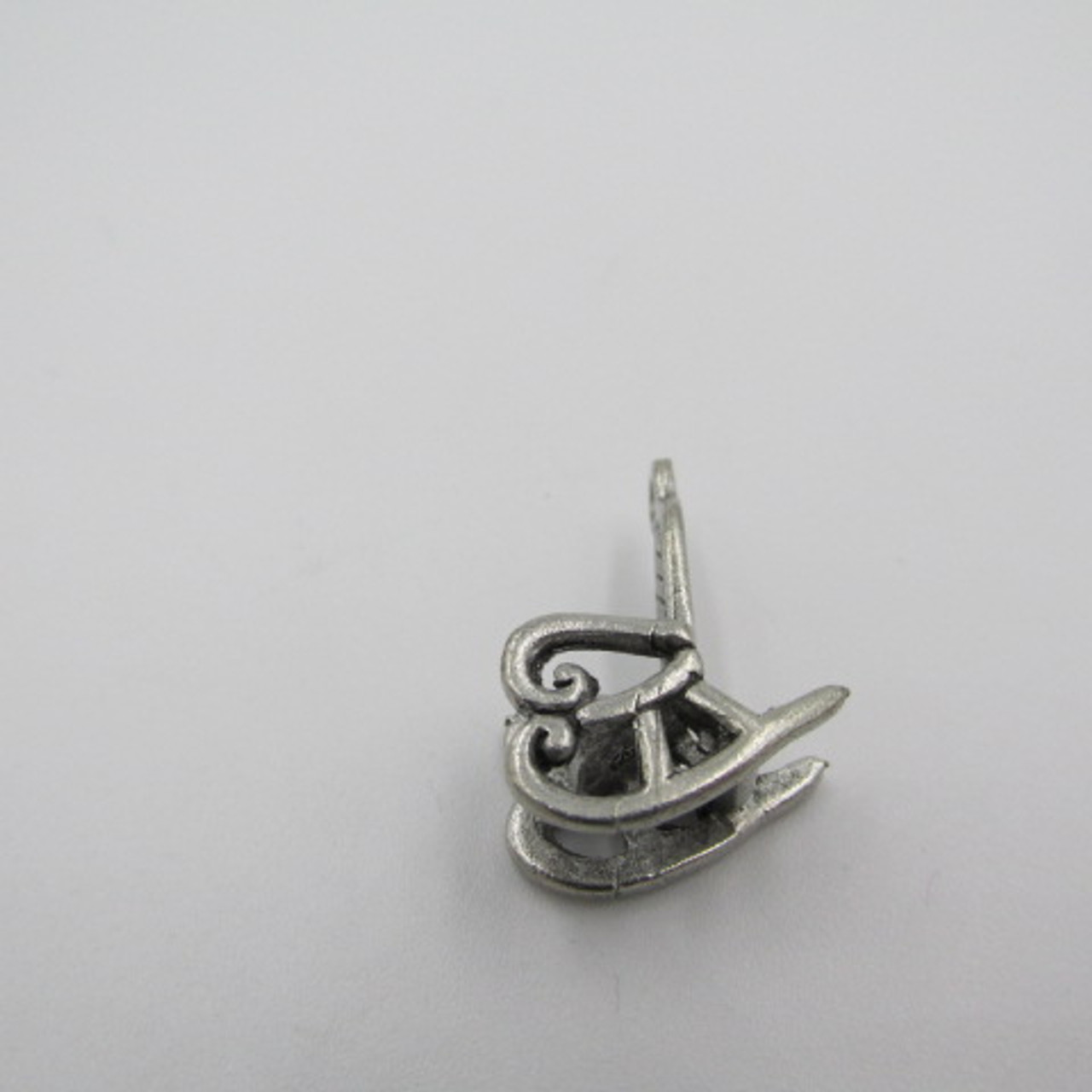 Rocking Chair Pewter Charm