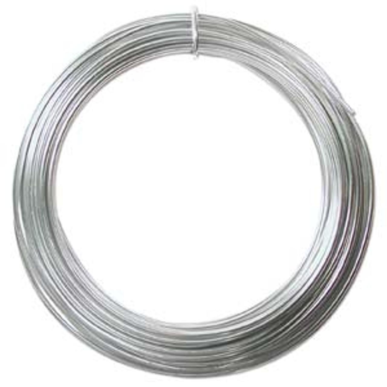 Silver 12ga Aluminium Wire 39ft