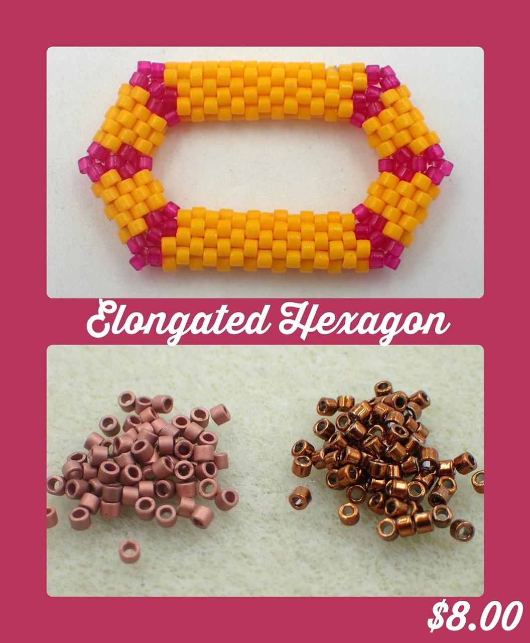 Brown Elongated Hexagon Kit