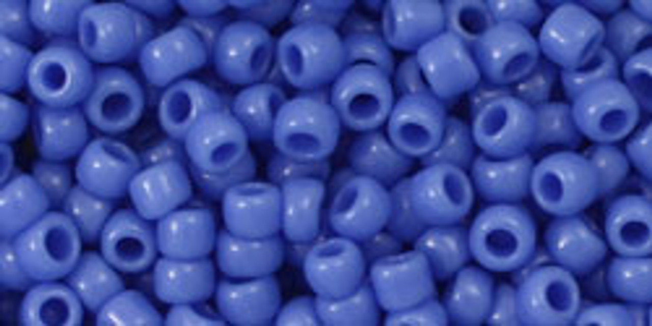 8/0 Toho Opaque Periwinkle Seed Bead (20 Grams) 08-48L