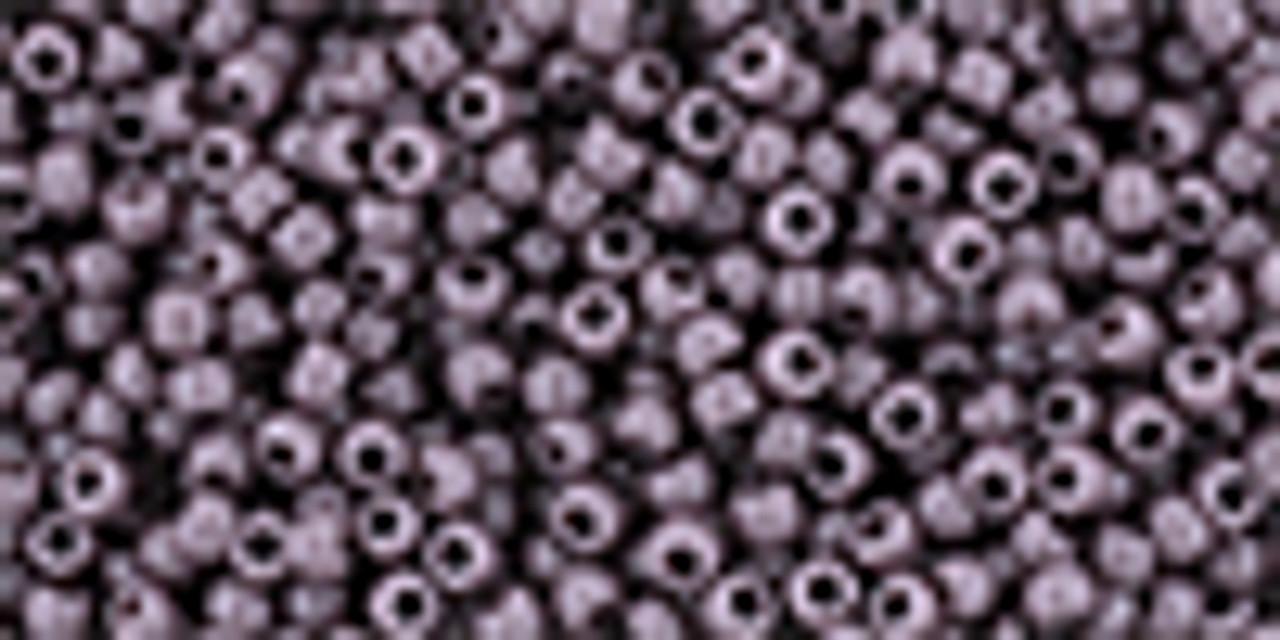 8/0 Toho Opaque Lavender Seed Beads (20 Grams) 11-52