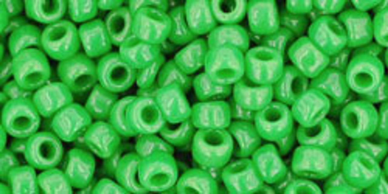 8/0 Toho Opaque Mint Green Seed Beads (20 Grams) 11-47