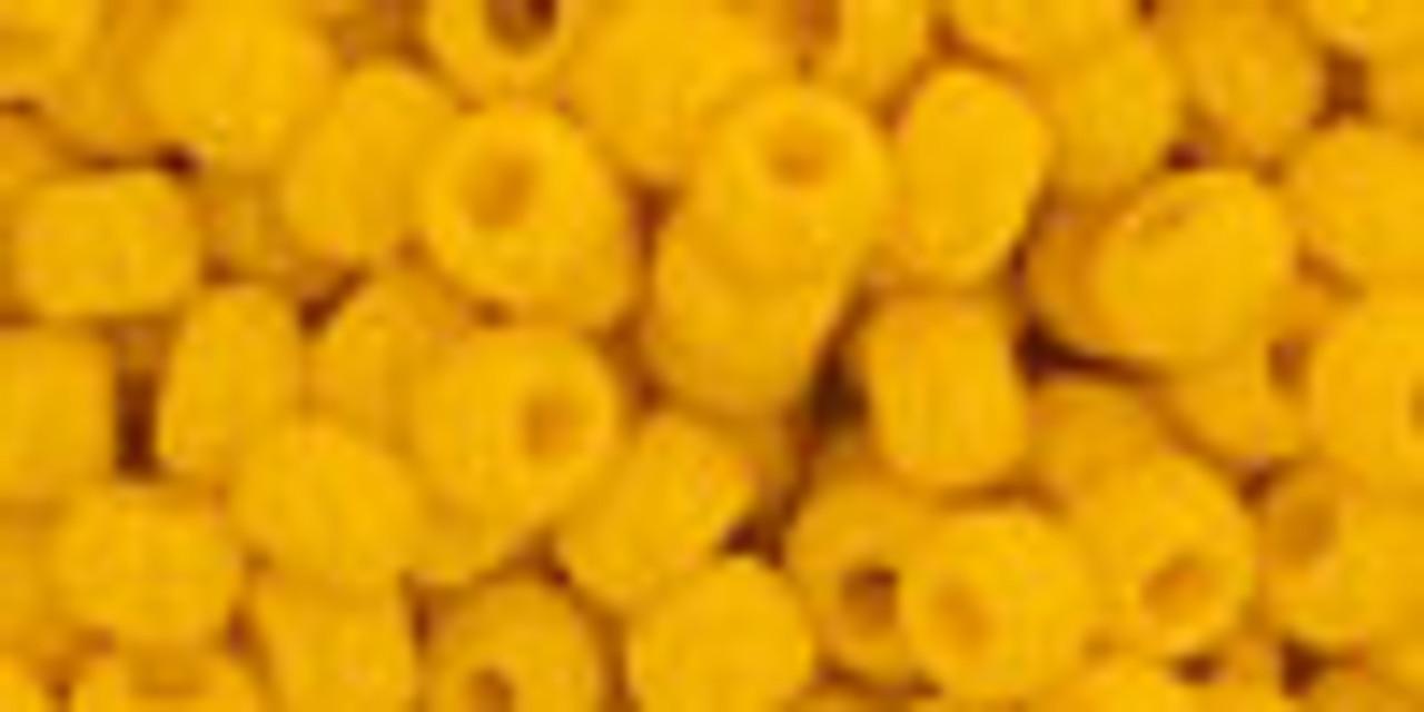 6/0 Opaque Sunshine Toho Seed Beads (22 Grams) 06-42B