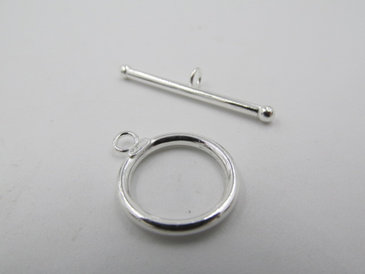 16mm Smooth Sterling Silver Toggle