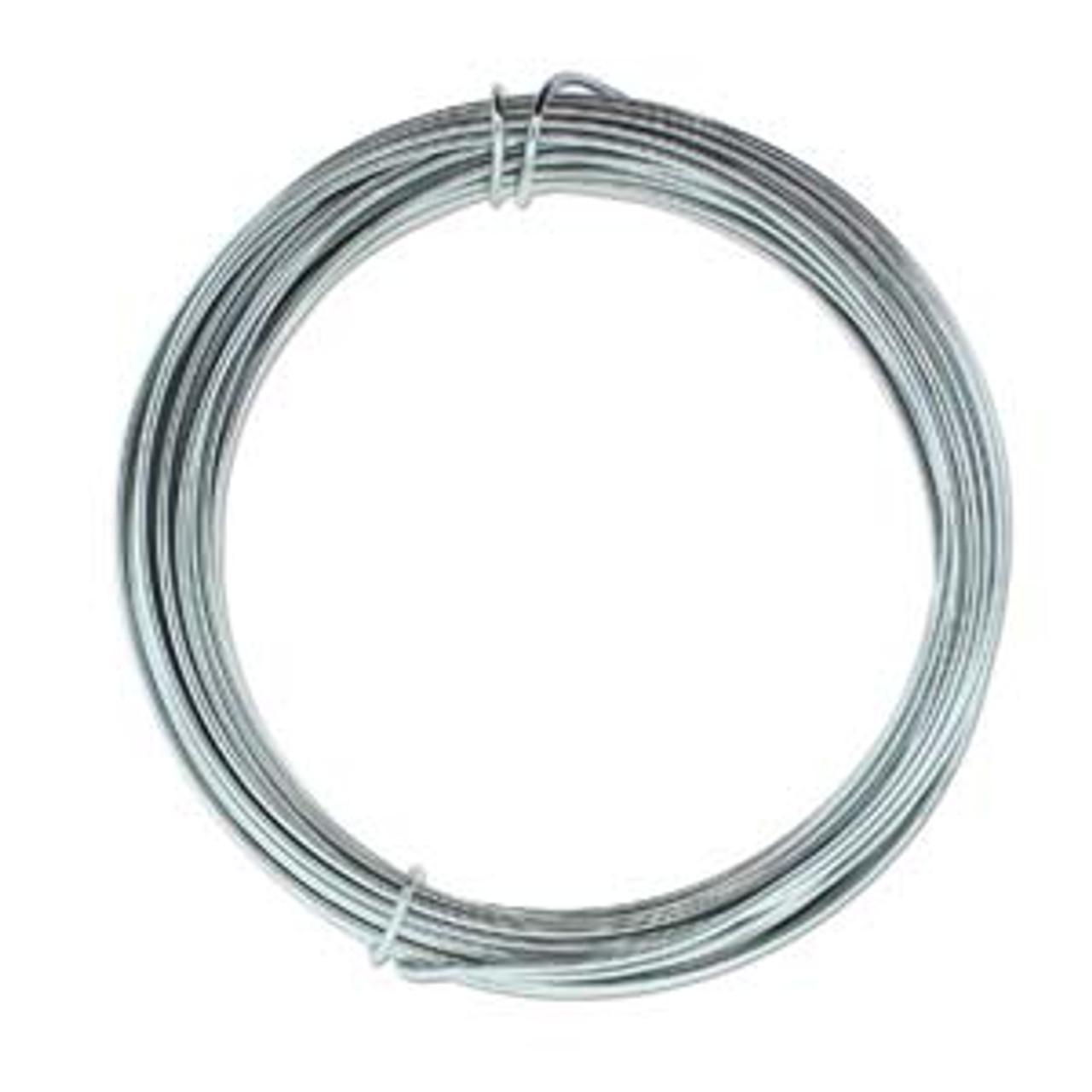 12ga Grey Aluminum Wire 39ft