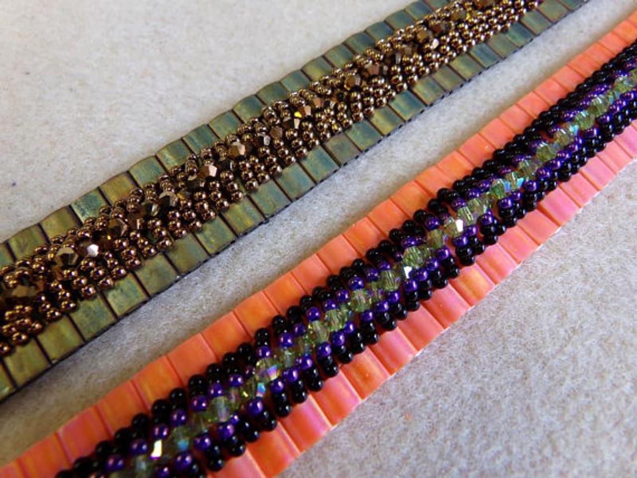 Tila Fandangle Bracelet Pattern - INSTANT DOWNLOAD