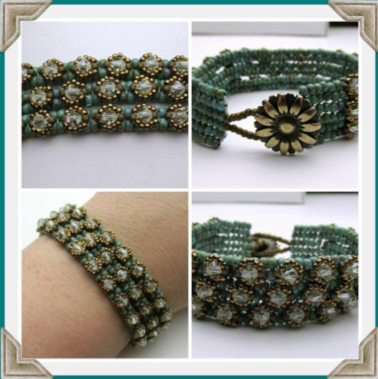 On the Rocks Trio Bracelet Tutorial - INSTANT DOWNLOAD