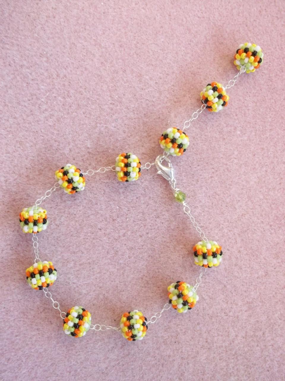 Confetti Bracelet Tutorial - INSTANT DOWNLOAD