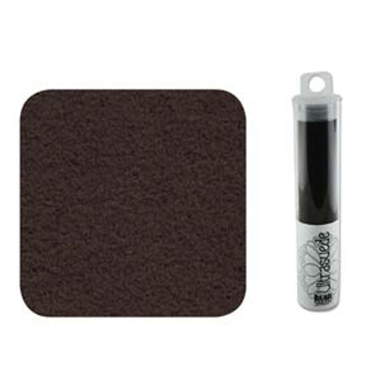 Coffee Bean Ultra Suede 8.5x4.25
