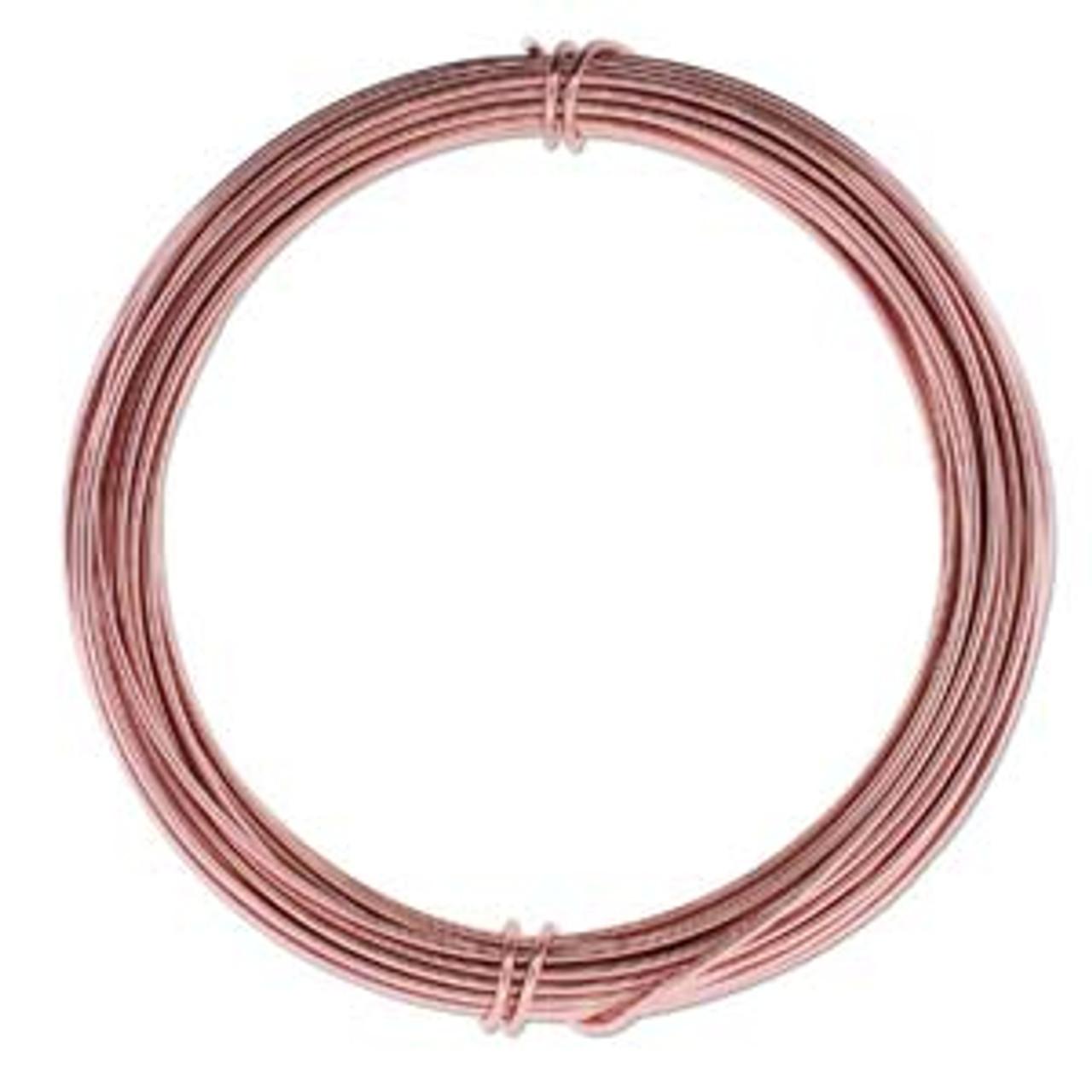 12ga Rose Gold Aluminum Wire
