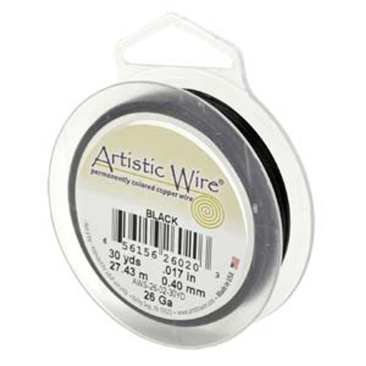 22ga Black Artistic Wire