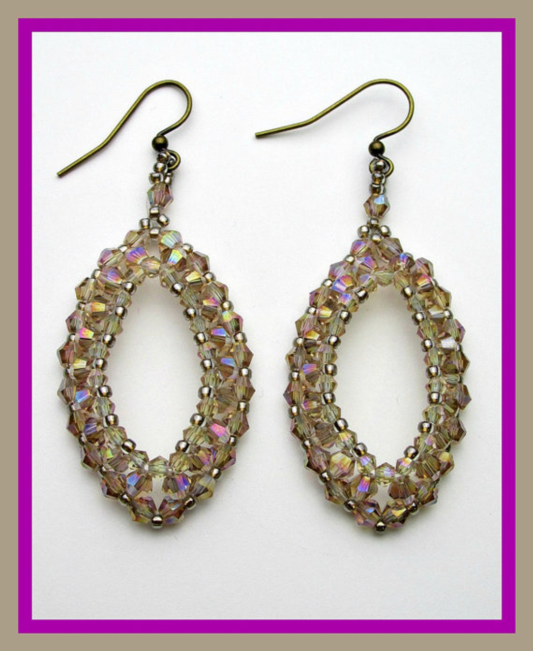 Raining on Prom Night Earrings Tutorial