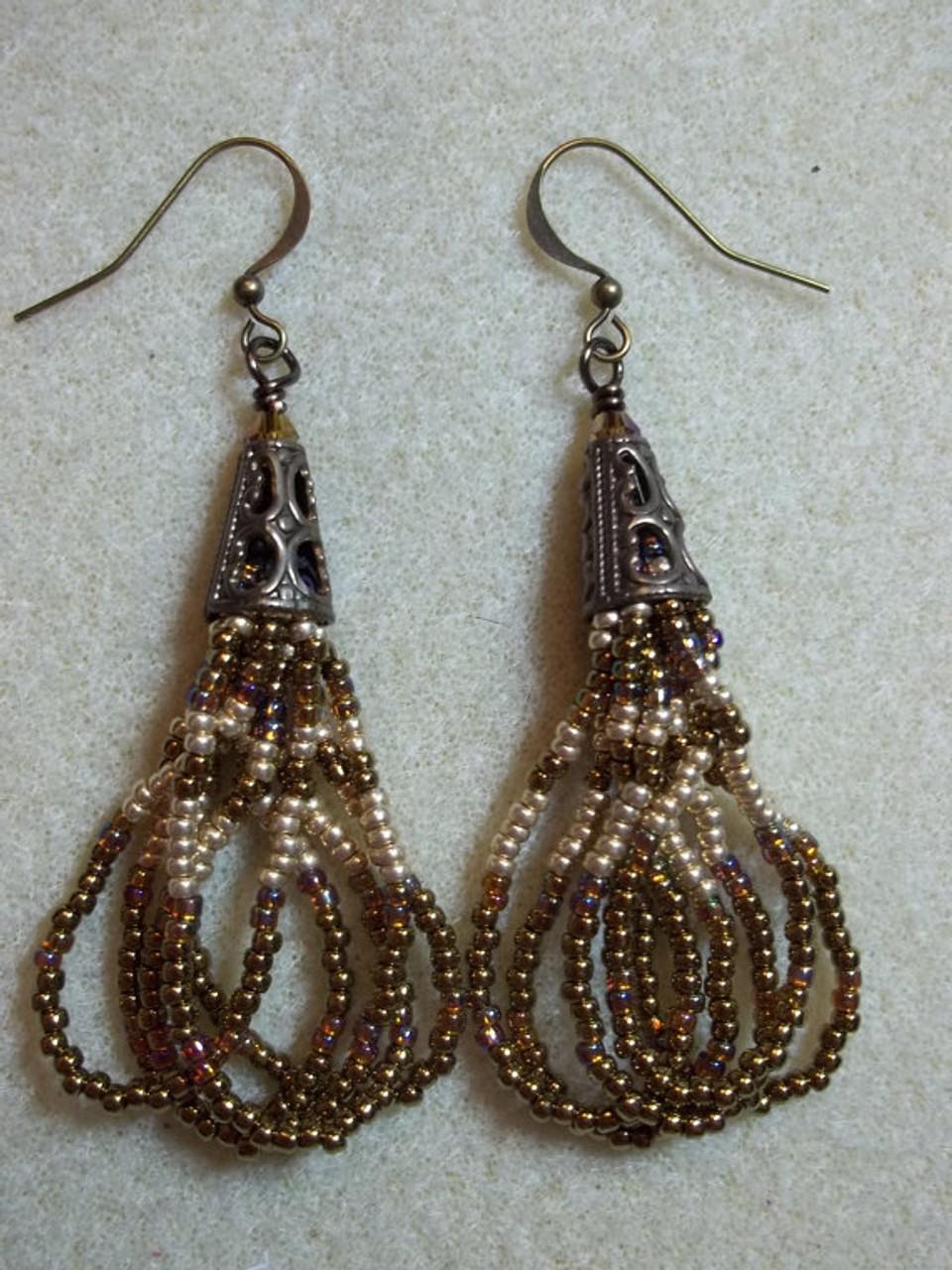 Sassy Senorita Earrings Tutorial