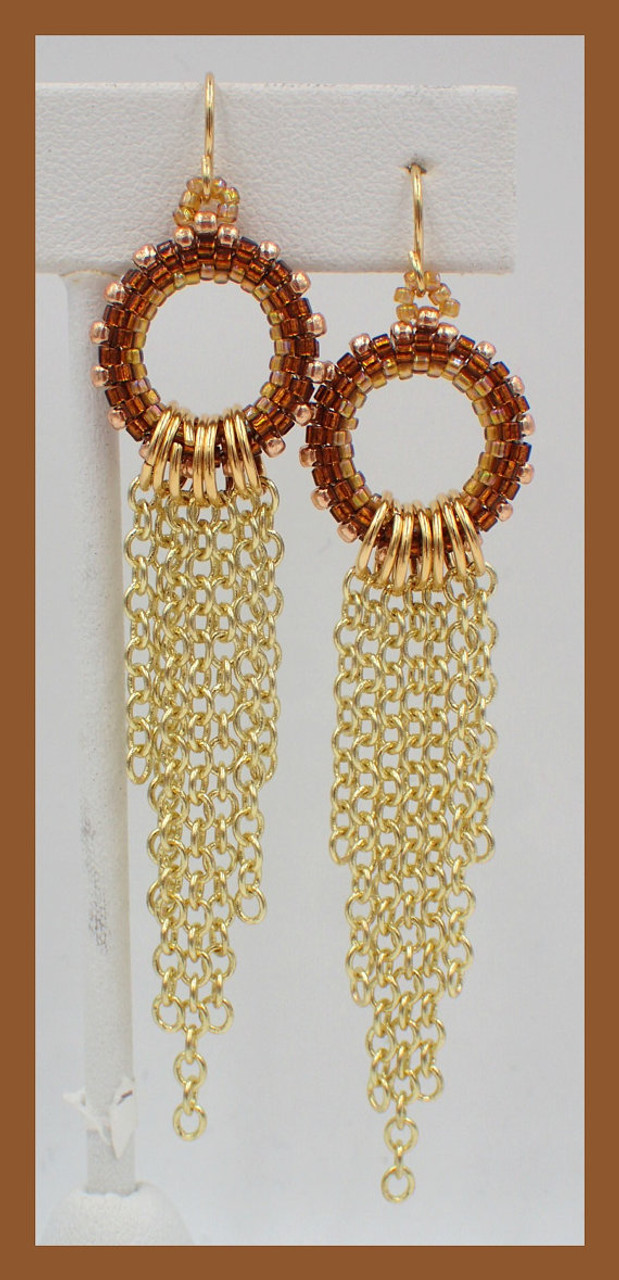 Juxtapose Earrings Tutorial