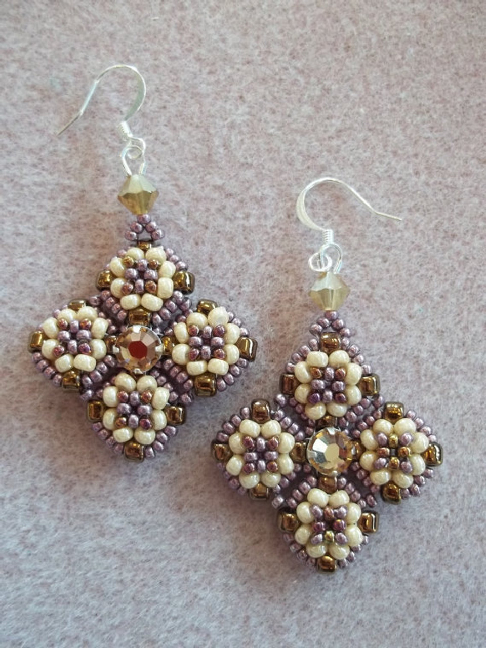 Meridian Earrings Tutorial
