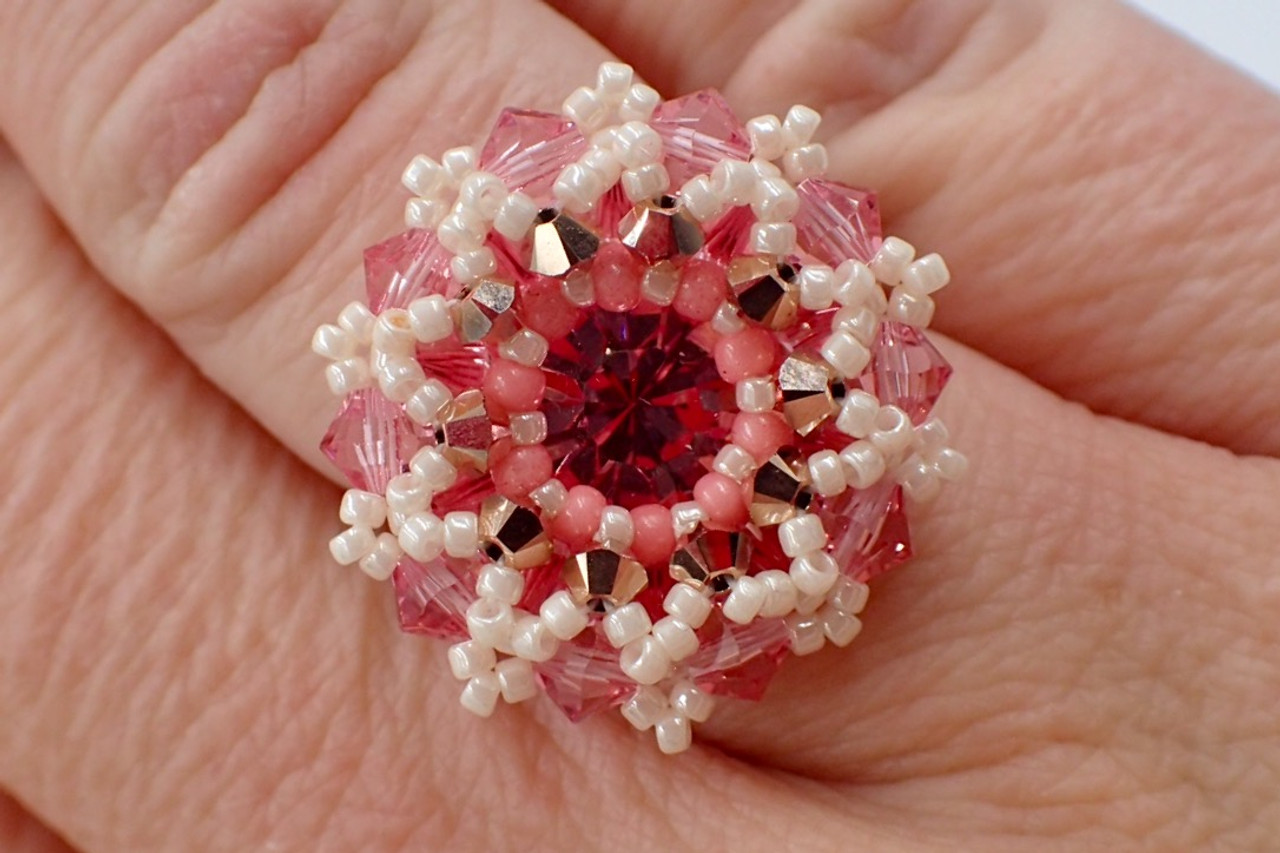 Prismatic Ring Tutorial - Instant Download Pattern