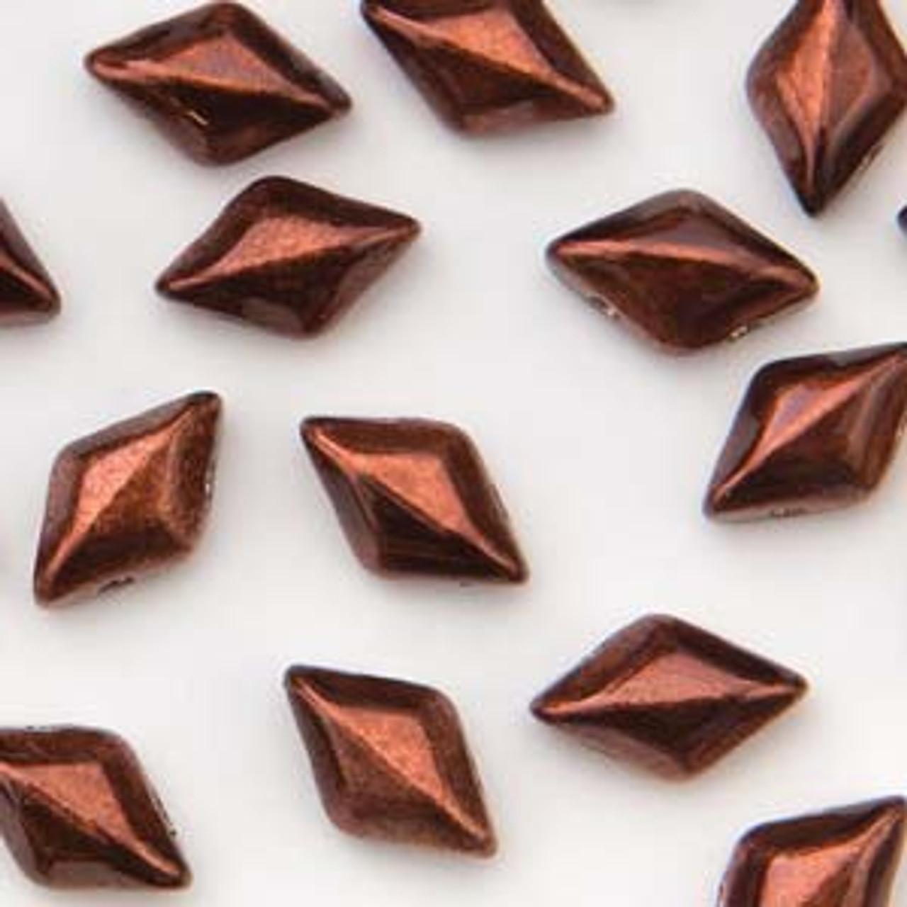 8 Grams 8x5mm Metalust Burnt Copper Gemduo's