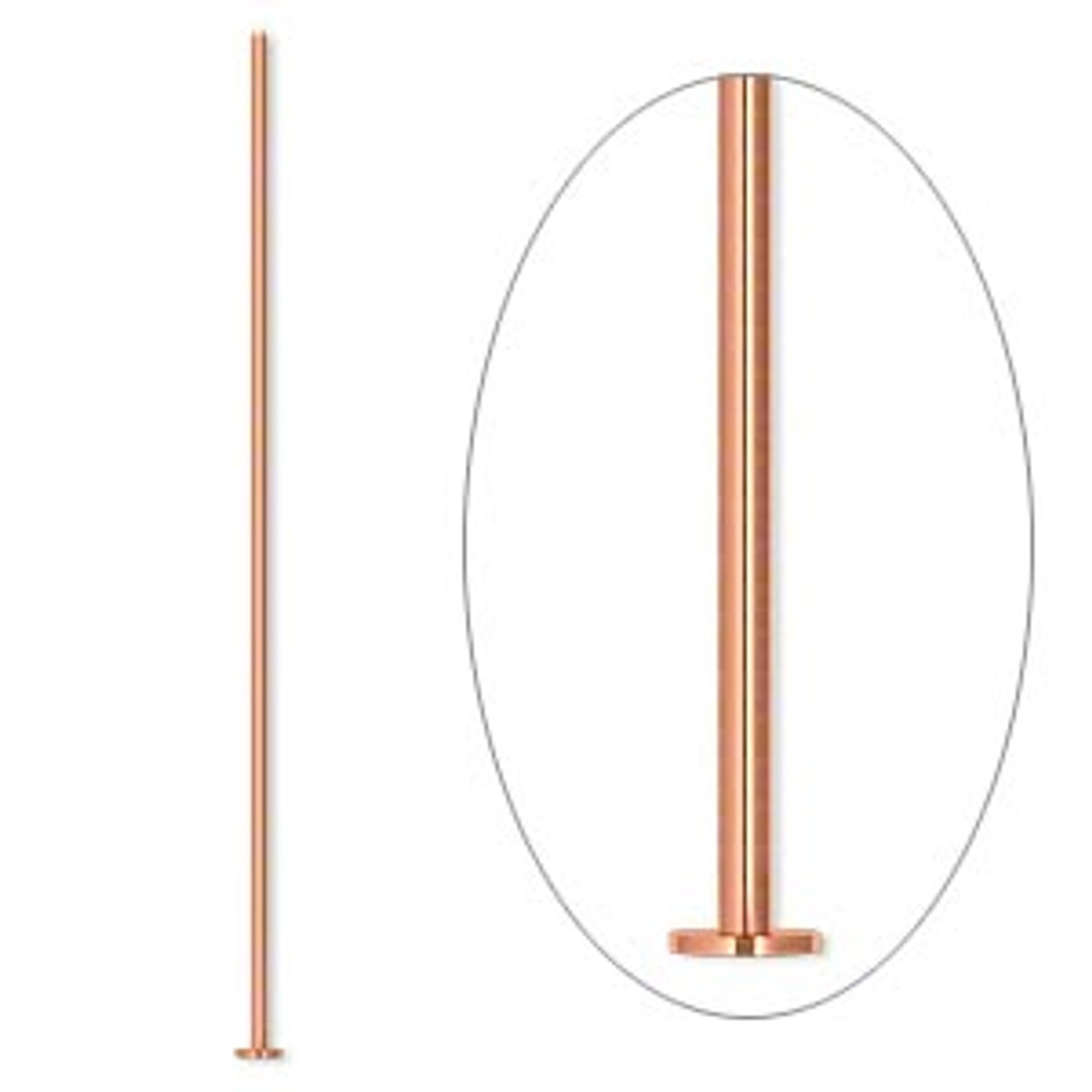 "24pk 2"" 21ga Copper Headpin"