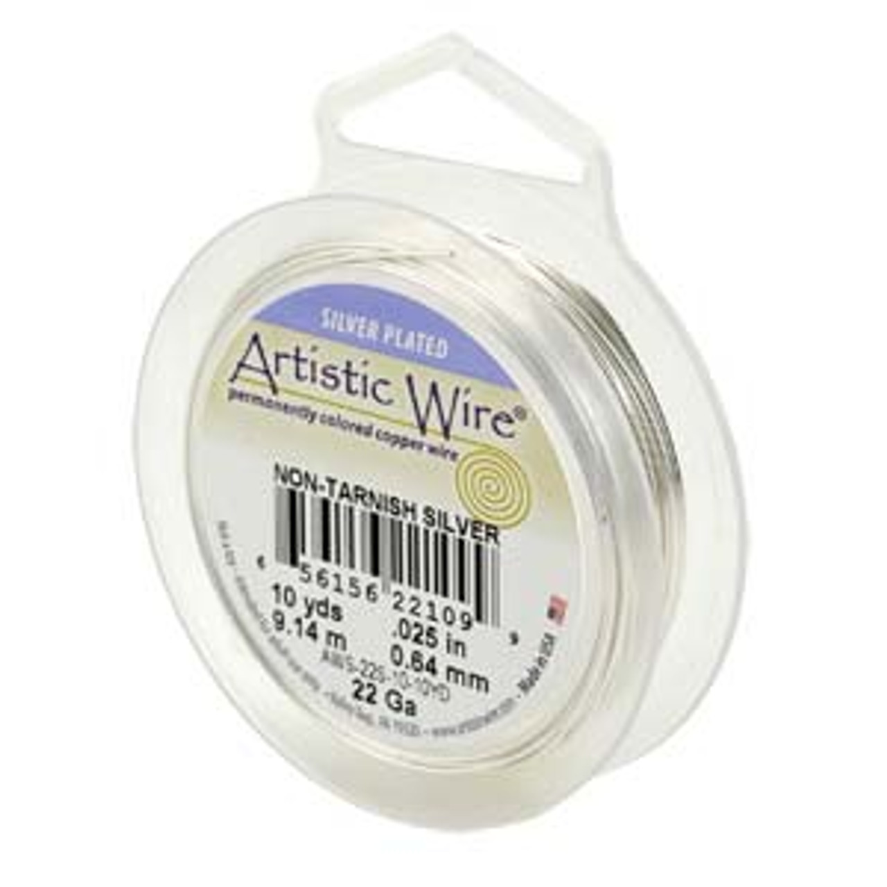 18 Ga. Silver Artistic Wire  -  20ft