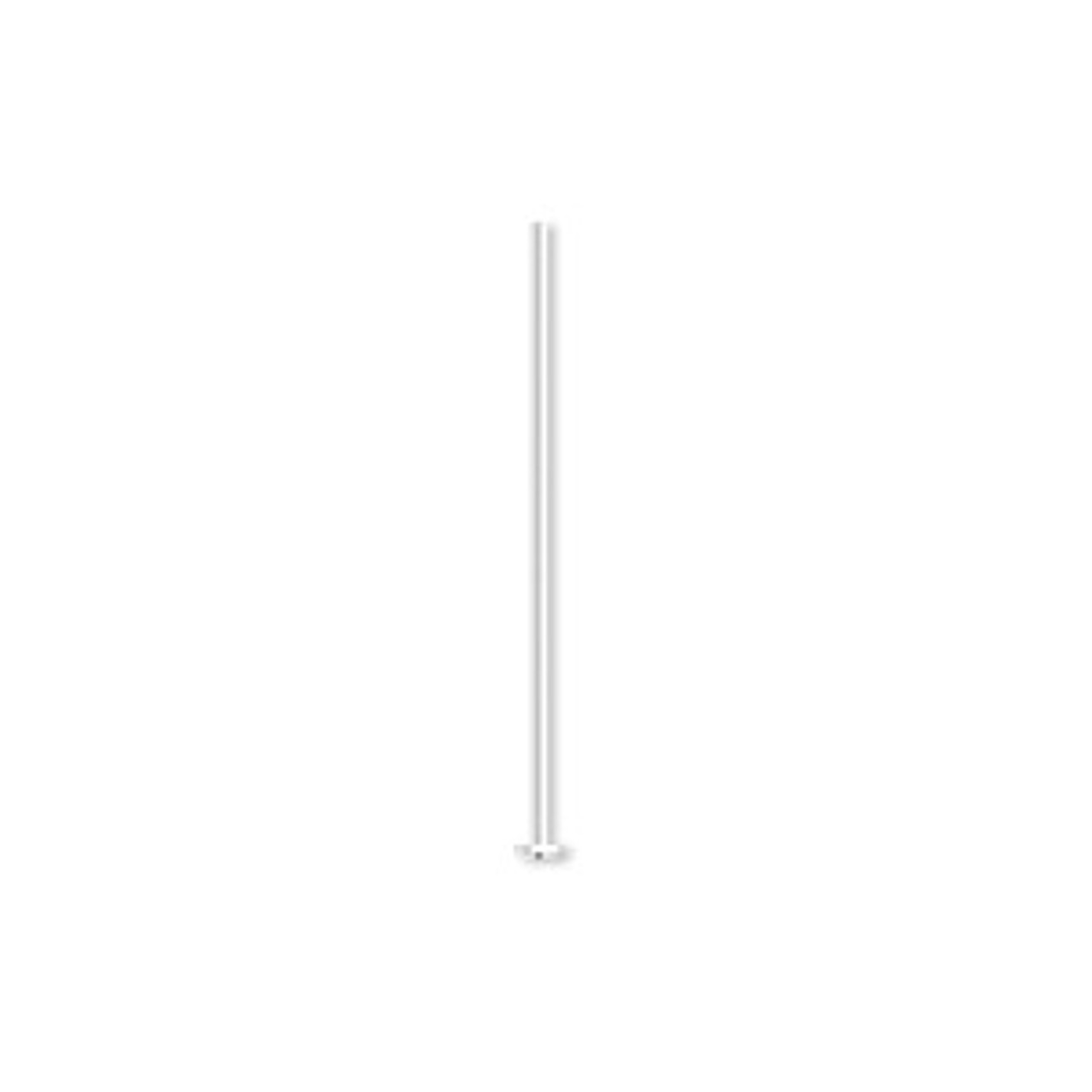 "1"" Silver Plated Thin Headpins (20 Pack)"