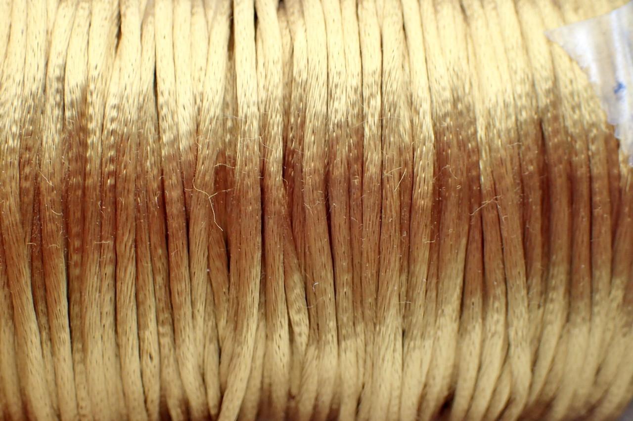 1.5mm Camel Rayon Rattail Cord - Per Yard