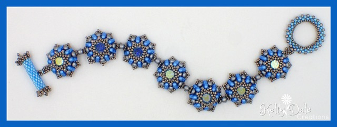 Knickknack Bracelet Tutorial PRINTED Pattern - Mailed to your home