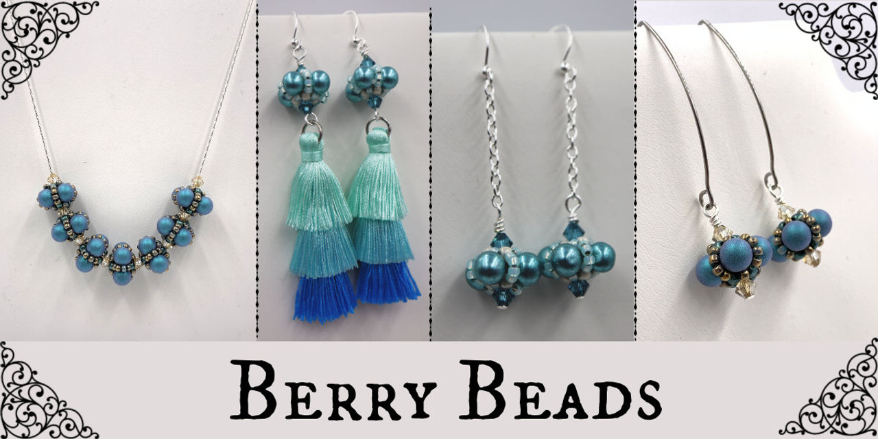 Berry Beaded Bead Instant Download PDF Pattern