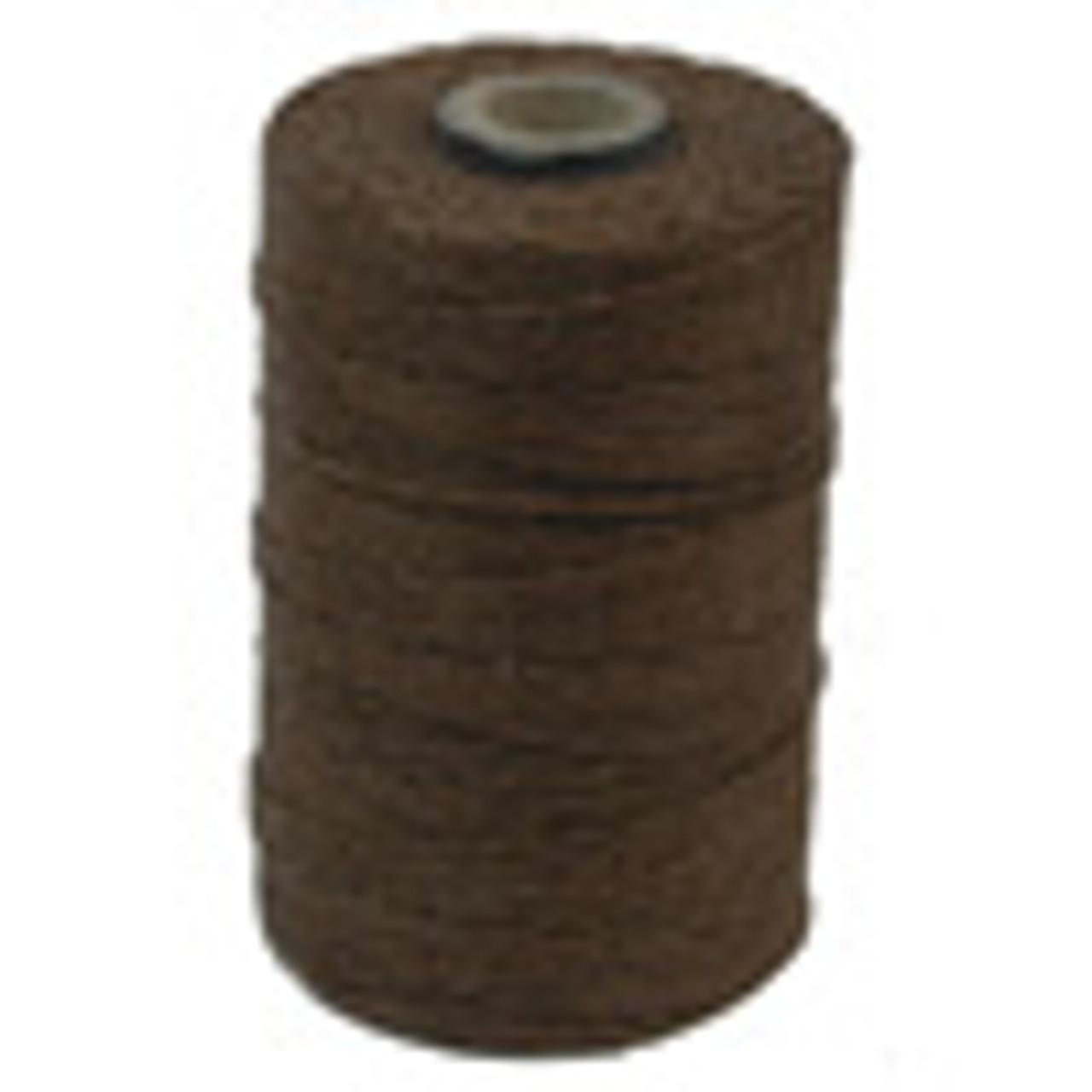 Walnut Brown 4ply Irish Waxed Linen (10 Yards)