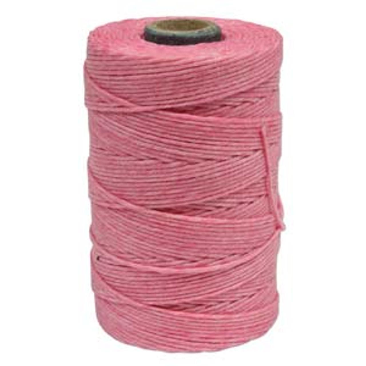 Light Rose 4ply Irish Waxed Linen (10 Yards)